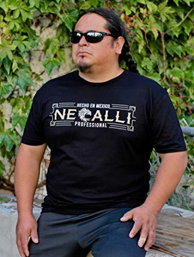 Necalli Professional Logo T-Shirt (Black, 3XLarge)