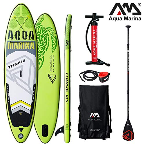 Aqua Marina Thrive 2019 SUP Board Inflatable Stand Up Paddle Surfboard Paddel
