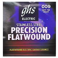 GHS ジーエイチエス エレキギター弦 750 PRECISION FLATS - Ultra Light