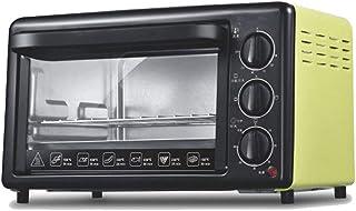 Horno eléctrico multifunción 20L, horno, hogar/pizza/máquina de pan/horno de pizza, 1200W-green
