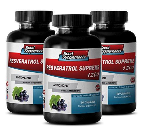 Resveratrol Supreme 180 Capsulas USA