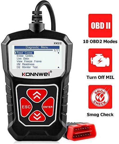 KONNWEI KW310 OBD2 Scanner Full OBDII Functions 10 Modes Car Engine Diagnostic Scanner Tool product image