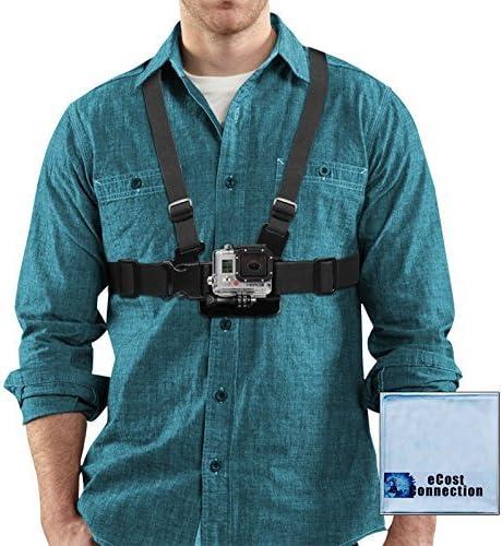 Inexpensive Adjustable Japan's largest assortment Chest Mount Harness for HERO1 HE HERO2 GoPro HERO3