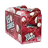 Contains six (6) 40-count cube bottles filled with Cinnamon ICE BREAKERS ICE CUBES Sugar-Free Chewing Gum ICE BREAKERS ICE CUBES chewing gum in cube bottles perfect for keeping in backpacks, car cup holders, snack drawers at work and treat cabinets a...