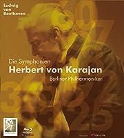ベートーヴェン : 交響曲全集 / ヘルベルト・フォン・カラヤン | ベルリン・フィルハーモニー管弦楽団 (Ludwig van Beethoven : Die Symphonien / Herbert von Karajan |Berliner Philharmoniker) [5 Blu-ray Audio]