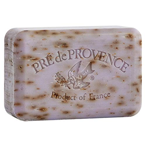Pre' De Provence Artisanal French Soap Bar Enriched With Shea Butter, Lavender, 250 Gram