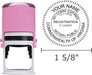 Best pink notary stamp Reviews