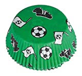 48 Muffinförmchen * FUSSBALL-STADION * für WM 2018-Party oder Kindergeburtstag // EM Party Mottoparty Geburtstag Soccer Muffins Förmchen