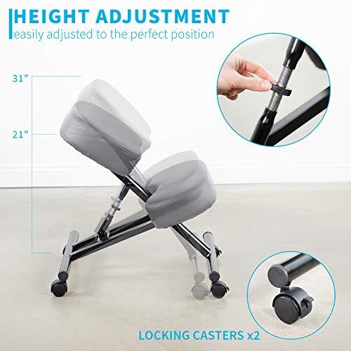 DRAGONN (by VIVO) Ergonomic Kneeling Chair