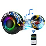 FLYING-ANT Hoverboard for Kids with Bluetooth and Speaker,6.5inch Two Wheels Self Balancing Hoverboard