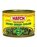 A blackened peel is a natural result of fire roasting They have an all-natural recipe and an authentic New Mexico flavor The diced green chilies are fire roasted to bring out their flavor
