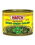 Hatch Chili Company, Chiles Green Dados suave, 4 onzas...
