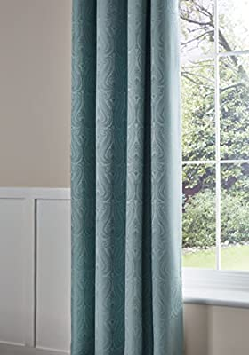 Catherine Lansfield Ornate Jacquard Collection Cream or Duckegg Blue