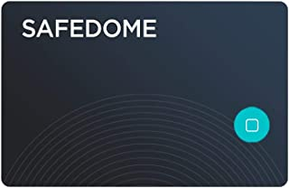 Safedome | Ultra Slim Rechargeable Bluetooth Tracker, Locator Finder Card - with a Lifespan of Over 8 Years, You'll Never ...