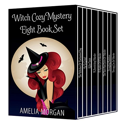 Witch Cozy Mystery Eight Book Set audiobook cover art