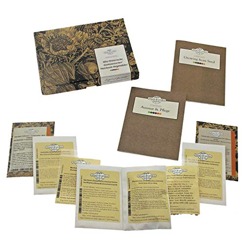 'Alte historische Gemüsesorten' Samen-Geschenkset mit 8 seltenen Saatgut-Raritäten - 2