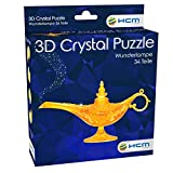 HCM Kinzel-3D Wunderlampe Puzzle 3D Crystal – Lámpara milagrosa, Color carbón (59186)