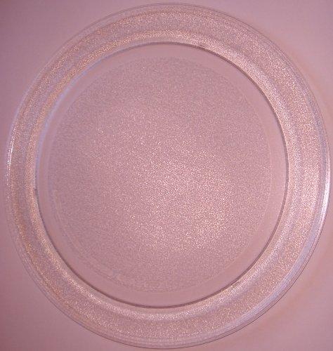 Mikrowellenteller / Drehteller / Glasteller für Mikrowelle # ersetzt Mda Mikrowellenteller # Durchmesser Ø 35,5 cm / 355 mm # Ersatzteller # Ersatzteil für die Mikrowelle # Ersatz-Drehteller # OHNE Drehring # OHNE Drehkreuz # OHNE Mitnehmer