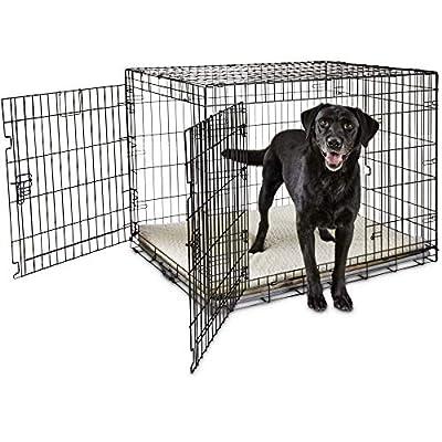 "You & Me 2-Door Folding Dog Crate, 42"" L x 28"" W x 30"" H, X-Large"
