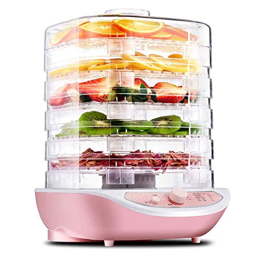 Household MINI Food Dehydrator Pet Meat Dehydrated 5 trays Snacks Air Dryer Dried Fruit Vegetables Herb Meat Machine snacks