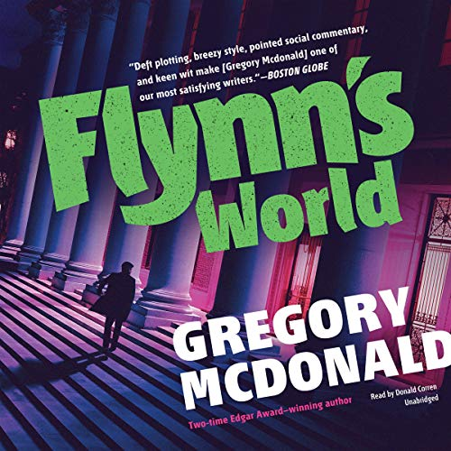 Flynn's World audiobook cover art
