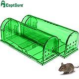 Best Mouse Poisons - CaptSure Original Humane Mouse Traps, Easy to Set Review