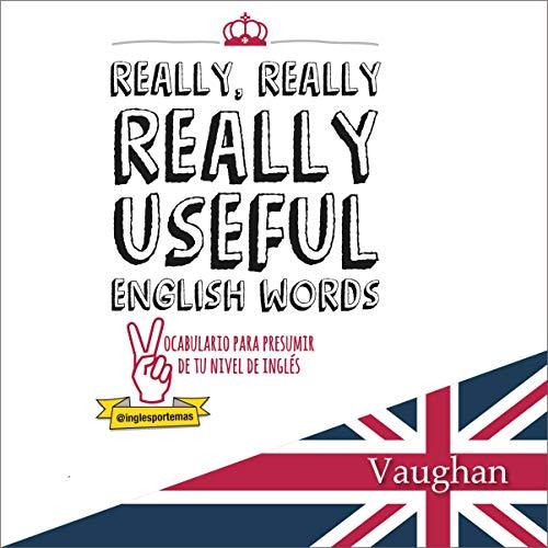 Diseño de la portada del título Really Really, Really Useful English Words