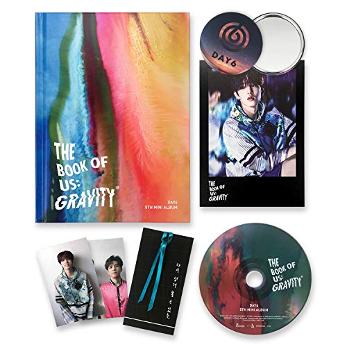 DAY6 5th Mini Album - The Book Of Us : Gravity [ MATE ver. ] CD + Photobook + Photocards + Postcard + Bookmark + FREE GIFT / K-POP Sealed