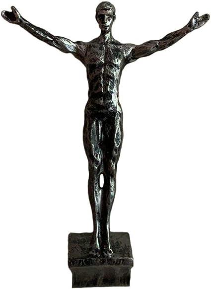 Esculturas Estatuas para Jardín Estatuas Figuras De Escalada ...