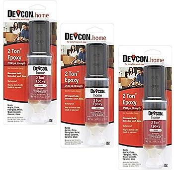 Devcon 31345 2 Ton Clear Epoxy 25 ml - 3 Pack