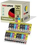Pack de 20 XL TONER EXPERTE® Compatibles PGI-525 CLI-526 Cartuchos de Tinta para Canon Pixma MG5150, MG5250, MG5350, MG6150, MG6250, MG8150, iP4850, iP4950, iX6550, MX715, MX885, MX895