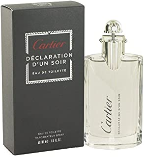 Declaration D'un Soir by Cartier Eau De Toilette Spray 1.7 oz for Men