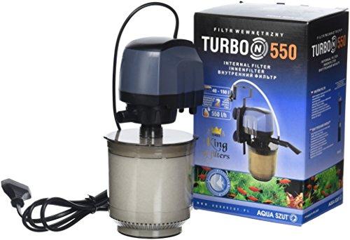 Aquael Turbo 550 N Filtre pour Aquariophilie 550 L/H Aq