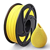 Anet PLA 3D Printer Filament 1.75mm, Dimensional Accuracy +/- 0.05 mm, 1kg Spool Yellow PLA Filament 1.75mm for Most 3D Printer & 3D Pen (Yellow)