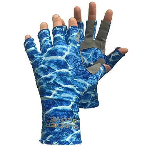 Glacier Handschuh Islamorada grau sungloves, Unisex - Erwachsene, grau, X-Large