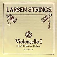 CUERDA VIOLONCELLO - Larsen (Soloist) (Acero) 1ェ Medium Cello 4/4 (La) A (Una Unidad)