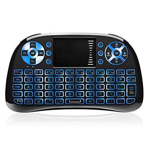 Our #5 Pick is the ANEWKODI Mini Wireless Keyboard