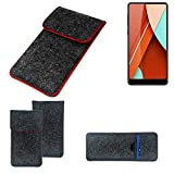 K-S-Trade® Protective Felt Case For Bluboo D5 Pro