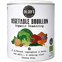 ✅CERTIFIED ORGANIC: Contains 18 different herbs, vegetables and sea salt and nothing else! ✅VERSATILE FLAVOUR: Doubles as an all-natural flavour enhancer with organic vegetables, aromatics and sea salt ✅QUALITY VEG STOCK: Gold Award Winner in the 201...