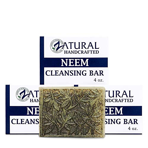 Neem Soap Bar Ultra-Sensitive Skin-Soothing Therapy-Relieves skin irritation, itching, flaking, & dryness. (3 Count)