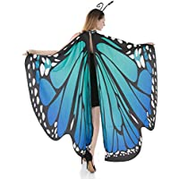 Spooktacular Creations Butterfly Wing Cape Shawl w/Headband Deals