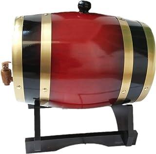 Fût de Whisky, 3L Avec Support en Fût de Chêne pour La Vinification ou Le Stockage Des Spiritueux Bière Whisky Agave (Colo...