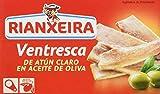 Rianxeira 1254 - Ventresca de Atún Claro en Aceite de Oliva , pack de 5 x 111...