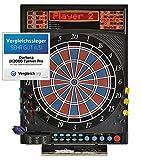 Dartona Elektronische Dartscheibe JX2000 Turnier Pro - | Dartscheibe elektronisch | Turnierscheibe mit 41 Spielen und ber 200 Varianten