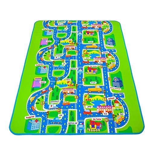 huihui Isomatte Kinder Teppich-Schaum-Matten Baby-Spiel-Matte Spielzeug for Kinder Krabbeln Teppich