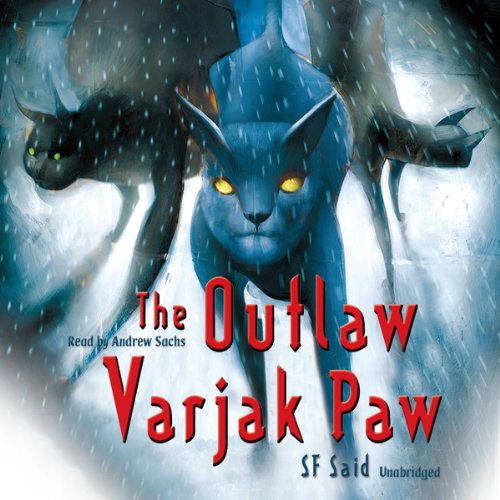 The Outlaw Varjak Paw audiobook cover art