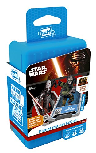 ASS Altenburger 22502712–Shuffle–Juego de Cartas Star Wars Rebels