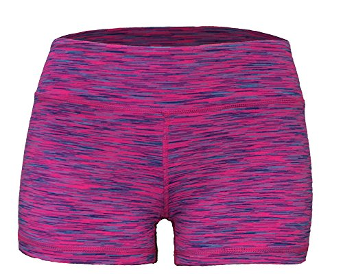 Epic MMA Gear WOD Booty Shorts for Women (S/6, Pink Space Space Dye)