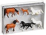 Preiser 1/87th–pr10150–Modelleisenbahnen–Pferde–Maßstab 1: 87 -