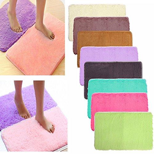 Pink Lizard 80x50 centimetri absrobent shaggy casa tappeto antiscivolo camera da letto tappeto morbido tappetino